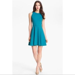 •{New!}• Rebecca Taylor Pleated Ponte Knit Dress